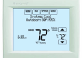 Honeywell TH8321WF-1001/U VisionPRO 8000 Wi-Fi Programmable Heating and Cooling Thermostat - Arctic White