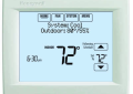 Honeywell TH8110R-1008/U VisionPRO 8000 Programmable Heating and Cooling Thermostat - Arctic White